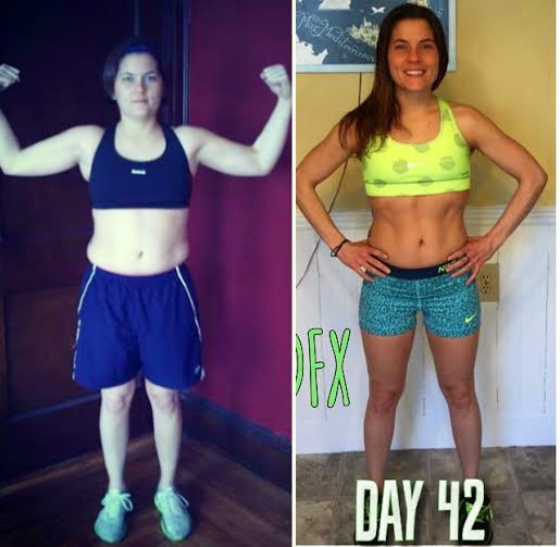 Jaime Messina, Before and After, fitness transformation, 21 day fix, p90X,