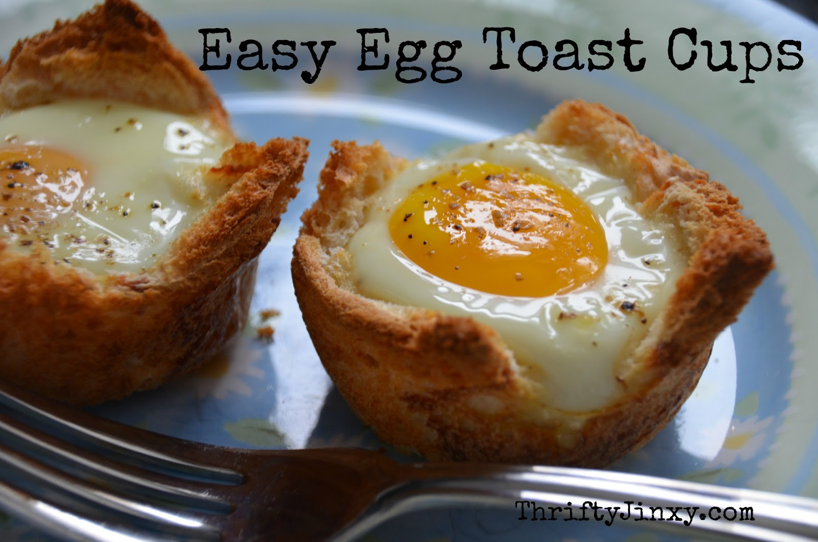 Easy Egg Toast Cups Recipe
