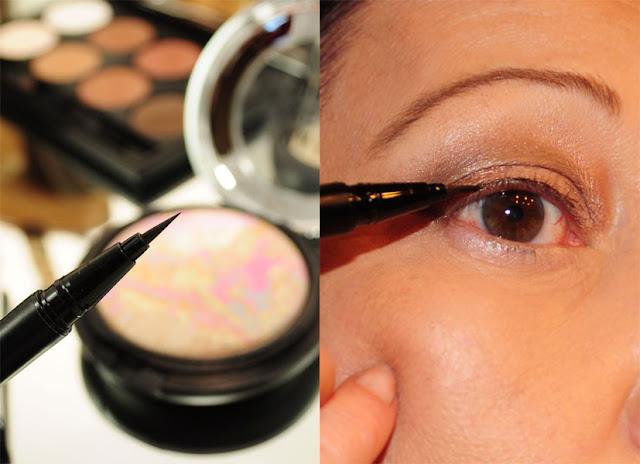 Eyeliner auftragen 1