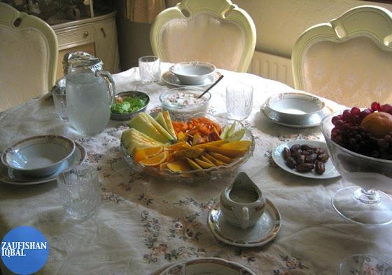 iftar ramadan meal