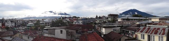 Bukit Tinggi, Sumatra, Indonesia, Marapi, Singgalang