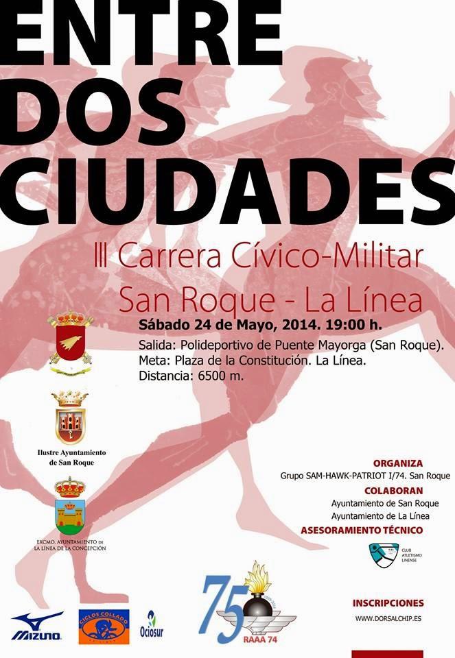 III EDICIÓN CARRERA CIVICO-MILITAR ENTRE DOS CIUDADES, LA LINEA DE LA CONCEPCIÓN