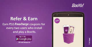 Earn Unlimited FreeCharge FreeFund Code - Booyo App