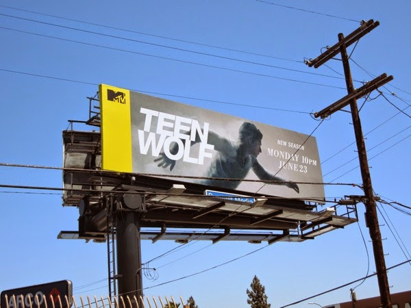 Teen Wolf season 4 billboard