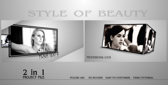 VideoHive Style Of Beauty