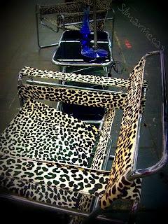 silla estilo wassily en la feria de desembalaje 2013 en el BEC-