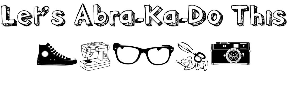 Let's Abra-Ka-Do This