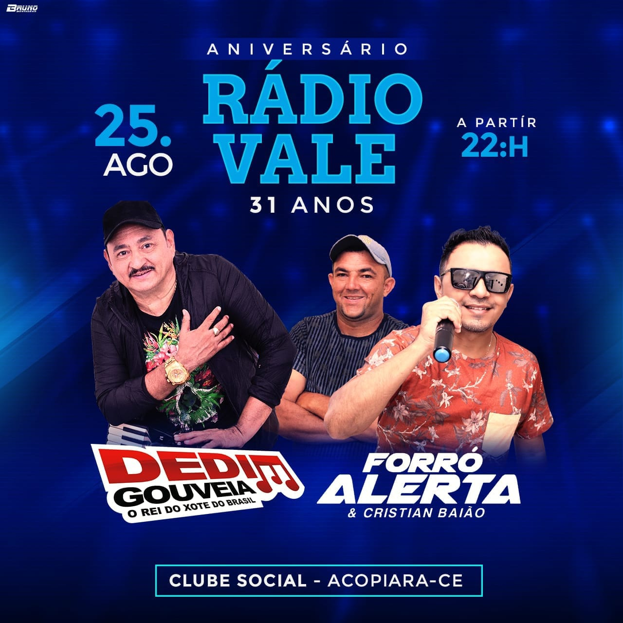 FESTA DE ANIVERSARIO DA RÁDIO VALE ACOPIARA 31 ANOS