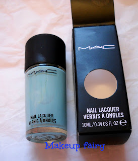 mac pistachio creme nail lacquer