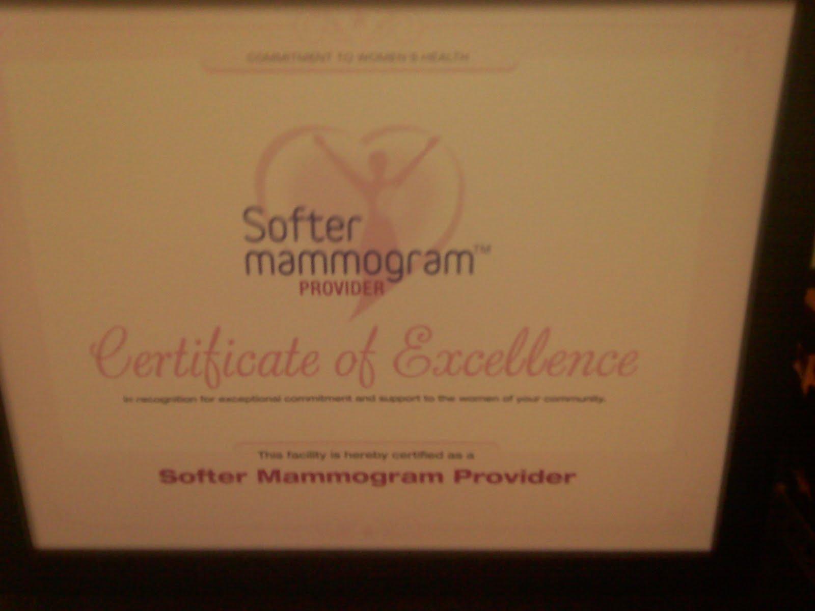 painless mammogram machine