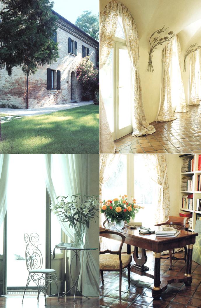 lberta Ferretti's homes San Giovani in Marignano & {hotel} Palazzo Viviani in Montegridolfo