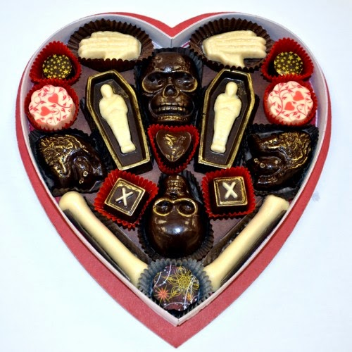 The Spooky Vegan Fatally Yours Gothic Chocolate Box