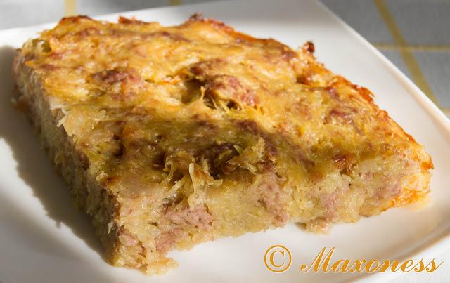 Картофельный кугель. Еврейская кухня