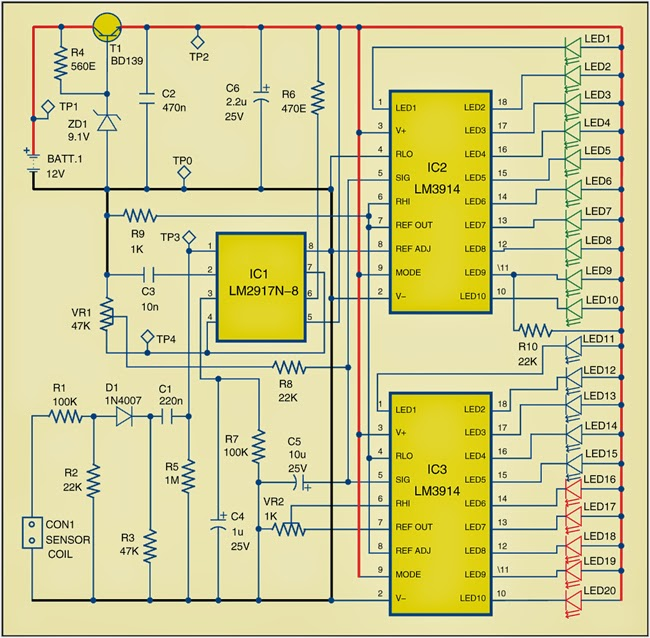 RPM Meter for Automobiles – Rpm Frequency Meter Wiring Diagram