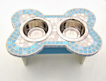 Medium Bone-Shaped Mosaic Diner