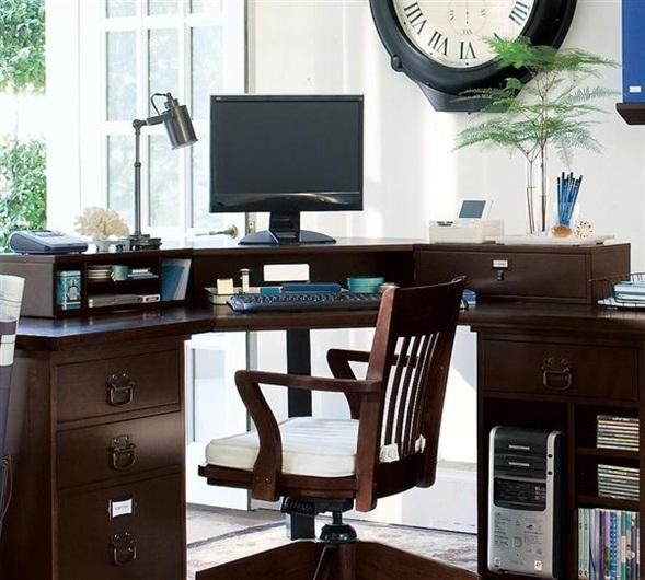 decora y disena: Muebles de Oficina en casa: Ideas de ...