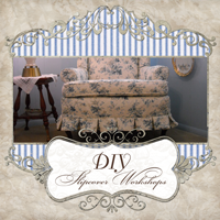 Visit my other blog- DIY Slipcover Workshops