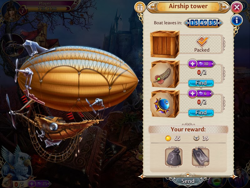 Midnight Castle Airship