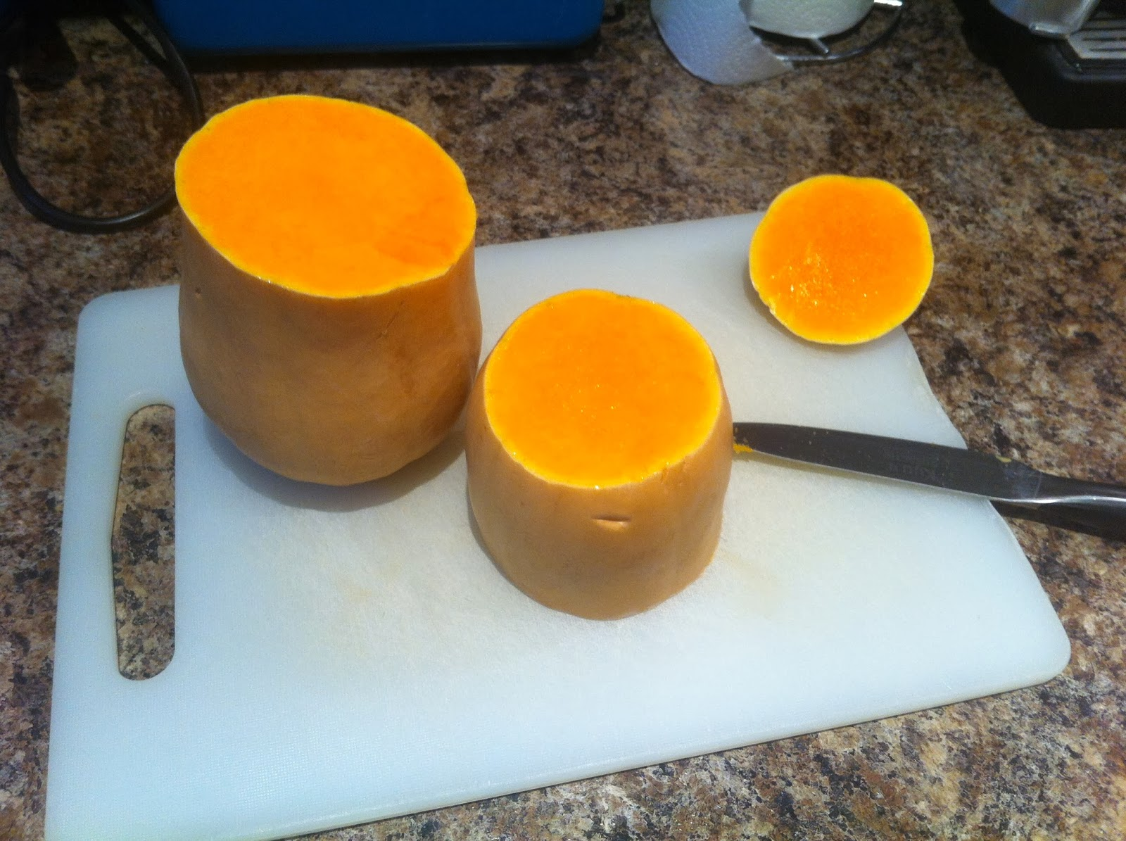Prepare butternut squash