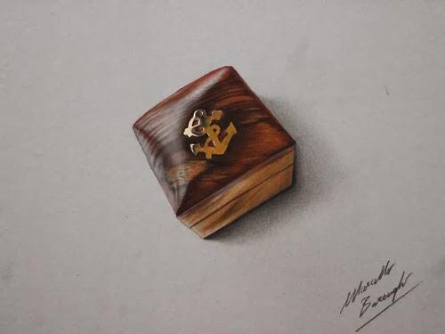 19-Wooden Box-Graphic-Designer-Illustrator-Marcello-Barenghi-Hyper-Realistic-Every-Day-Items-www-designstack-co