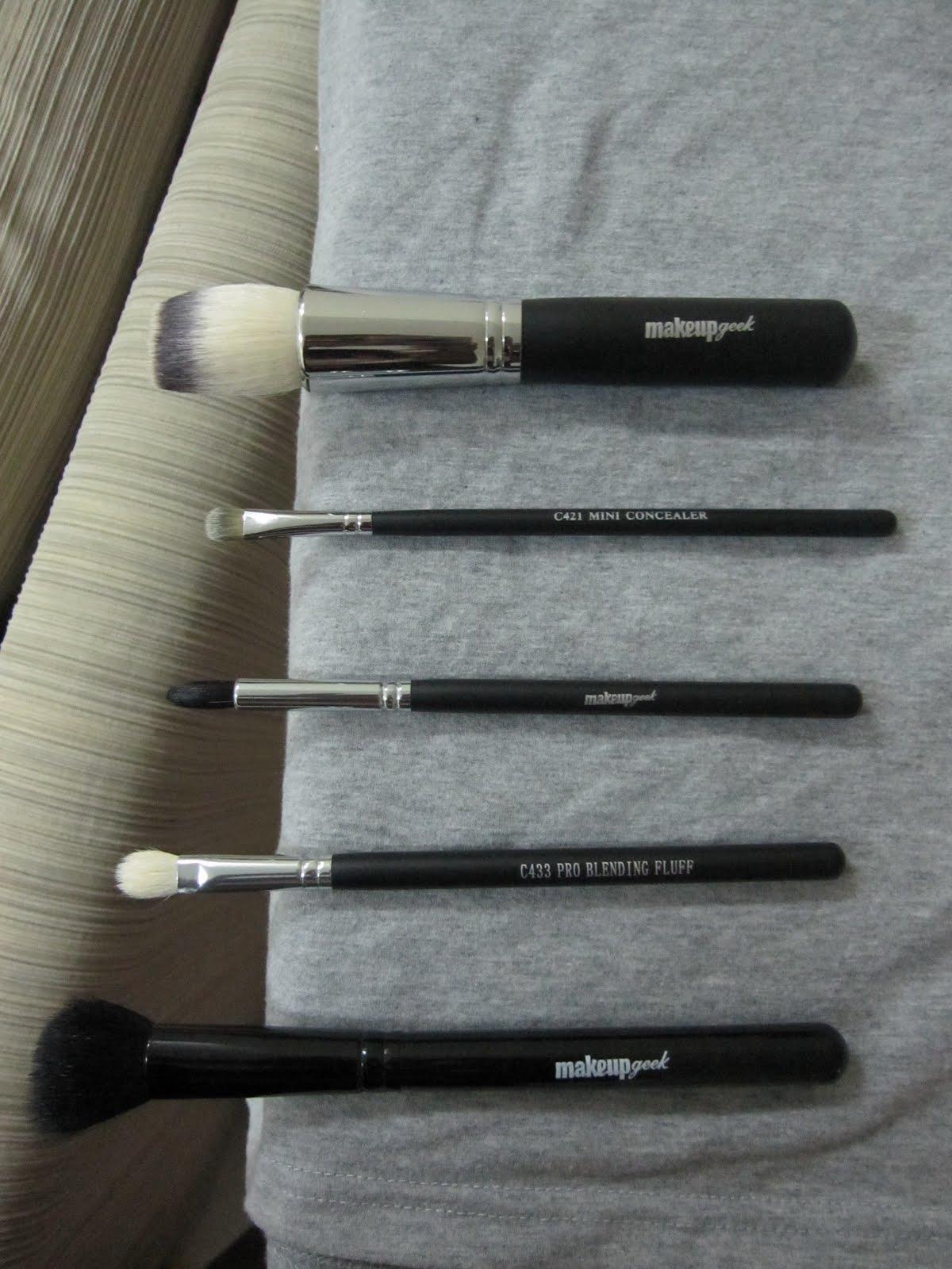 Makeup Geek Brushes Makeup Geek Brushes Bought
