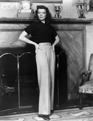 Luxury Woman Wearing Black Pants With Black Sweater