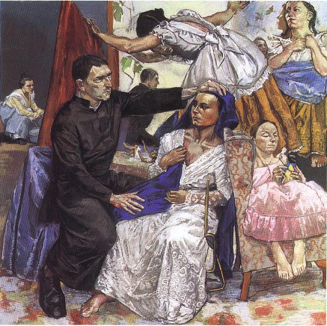 """O embaixador de Jesus"""" (1977), de Paula Rêgo"""