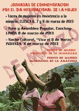 Jornadas de Conmemoración por el Día Internacional de la Mujer