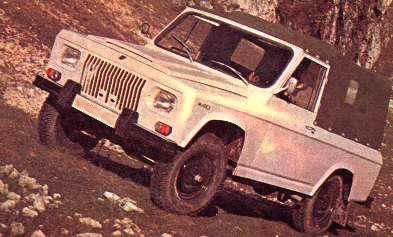 Romanian Car ARO 240 classic picture