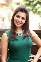 Actress Samantha Latest Pictures in Tight Jeans at Attarintiki Daredi Movie Interview 0002.JPG