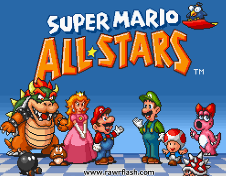 Super Mario All-Stars Online