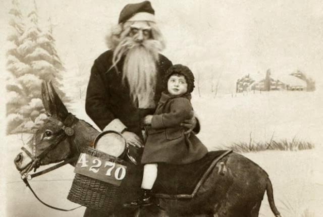 Creepy Old Santa