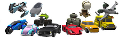 vehicles avatars second life