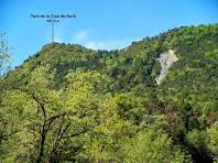 El Turó de la Creu de Gurb vist des de la bassa del Puig