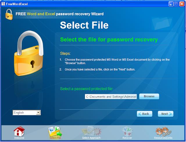khôi phục mật khẩu word và excel 2