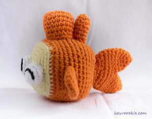 2000 Free Amigurumi Patterns: Free fish crochet pattern