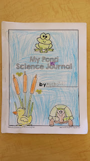 https://www.teacherspayteachers.com/Product/My-Science-Journal-Pond-Animals-1271425