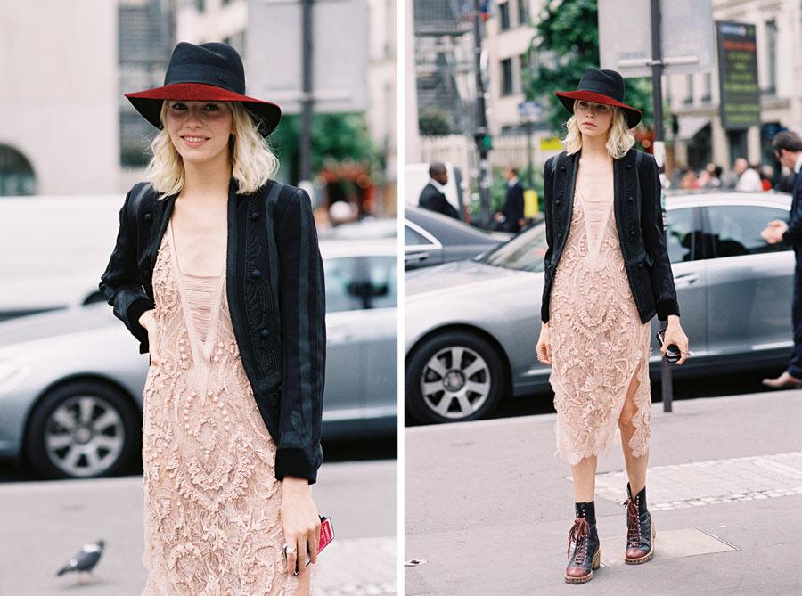 Vanessa Jackman: Paris Couture Fashion Week AW 2014.Hanneli