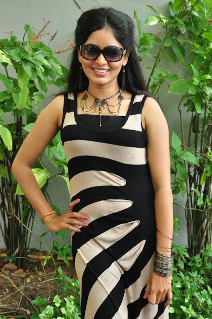 Madhumitha Stills At Fida Movie Launch