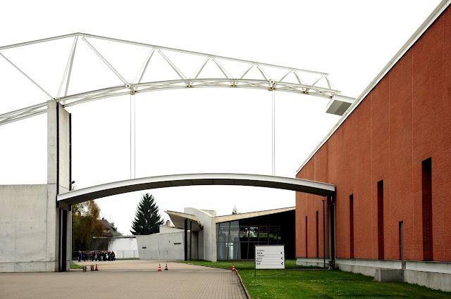edificio Siza en Vitra Campus