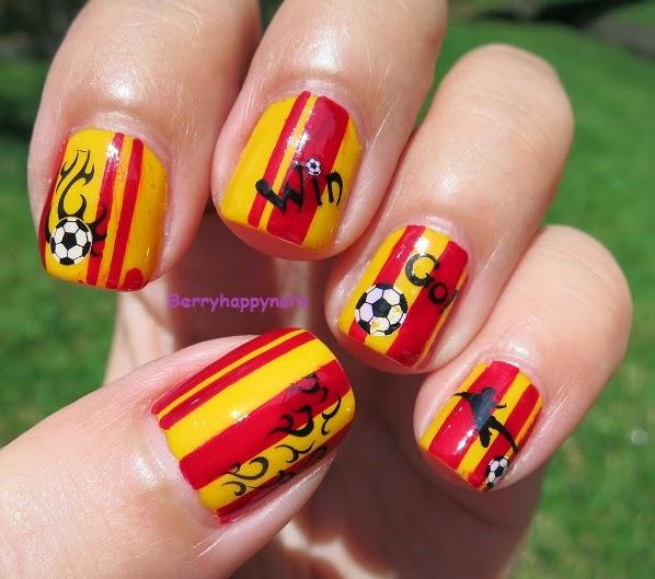 Happyberrynaiad World Cup 2014 Go Goal Spain