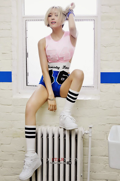 Hyomin Arena Homme July 2014
