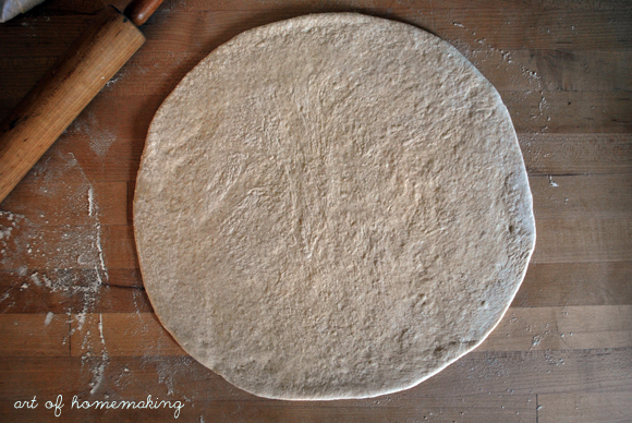 The Art of Homemaking: How to Make Pizza Dough