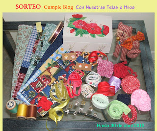 SORTEO EN CON NUESTRAS TELAS E HILOS
