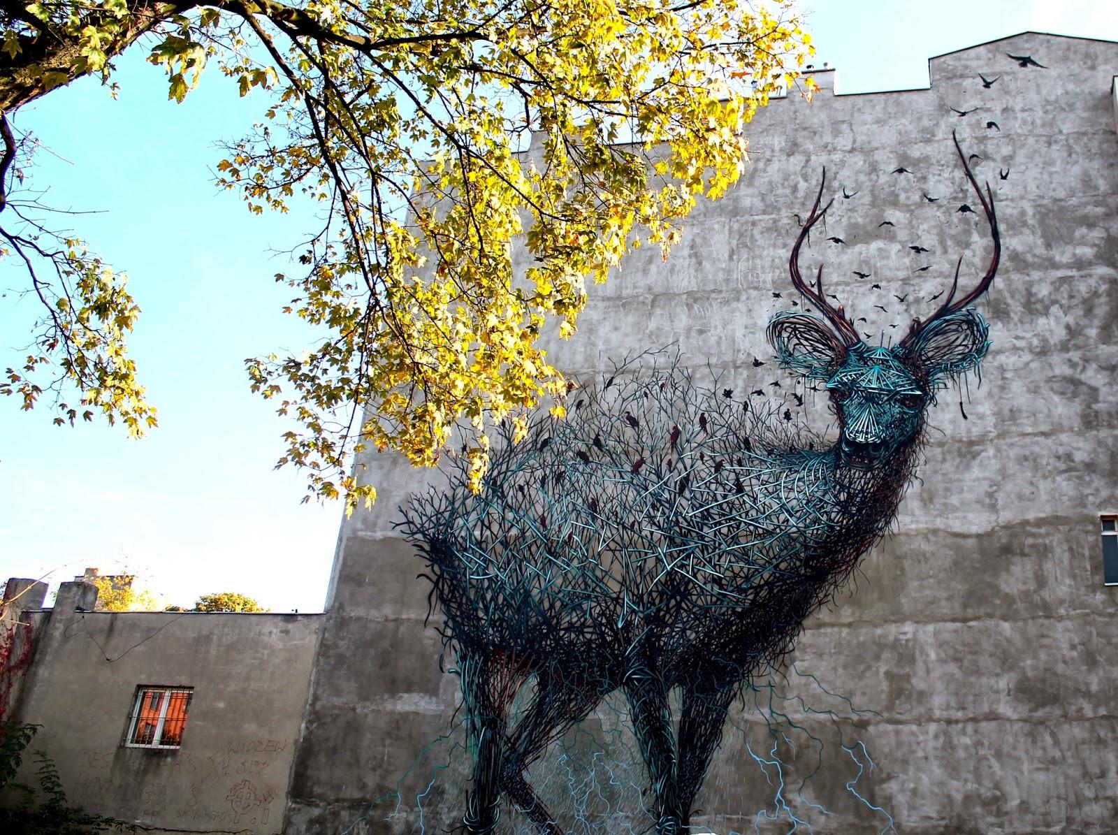 Baedeker Lodzki Lodz Mural Przy Ulicy Lakowej 10