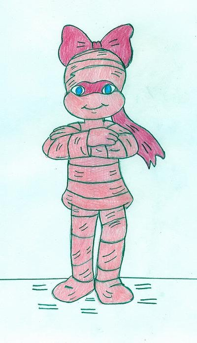 Pink Mummy on Parade por Jose-Ramiro