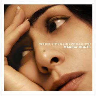 Marisa Monte: Memórias, Crônicas e Declarações de Amor - capa do disco