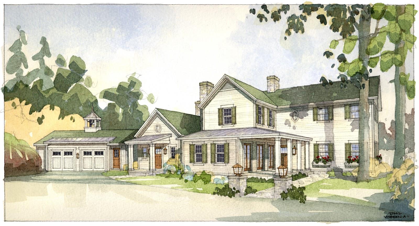 Architectural tutorial the american farmhouse visbeen for American farmhouse style architecture