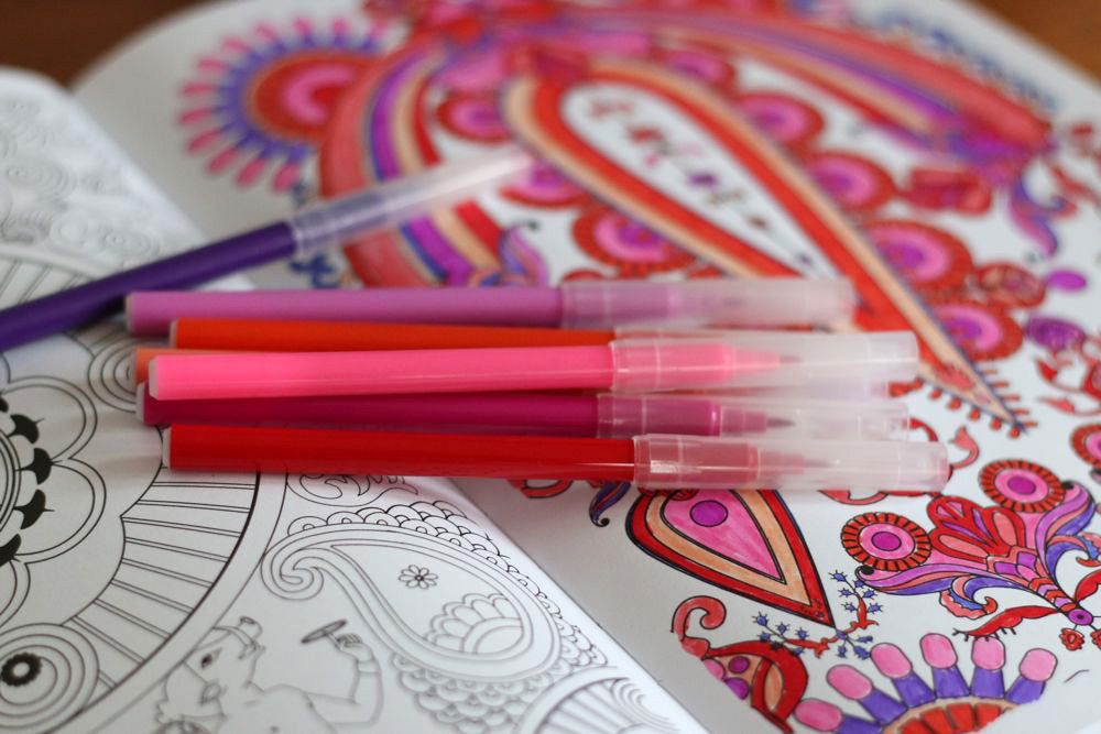 Food For Thought, Why Are Adult Colouring Books So Popular? The Therapeutic  Benefits ...