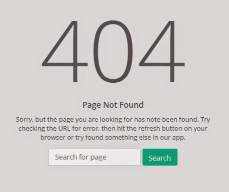 Halaman Error 404 PHP Codeigniter